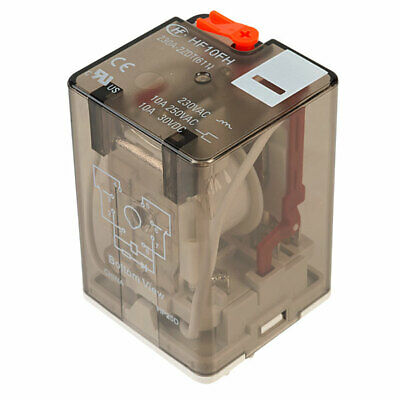Hongfa HF10FH230A2ZDT 2 Pole 10A 230VAC 8 Pin Plug In Power Relay