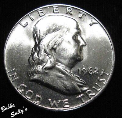 1962 D Franklin Half Dollar <> UNCIRCULATED