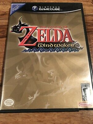 Nintendo Gamecube The Legend Of Zelda The Wind Waker Game 2002 Great Condition