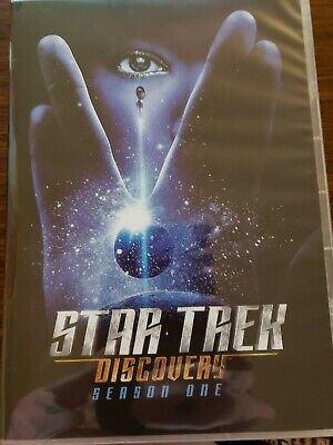 Star Trek Discovery Season 1 One DVD Free Shipping Excellent Condition