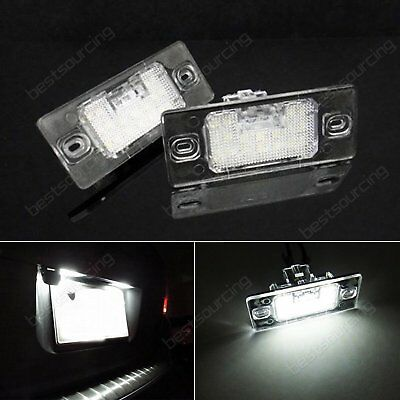 High Power LED License Number Plate Light Lamp For Porsche VW Audi Xenon White