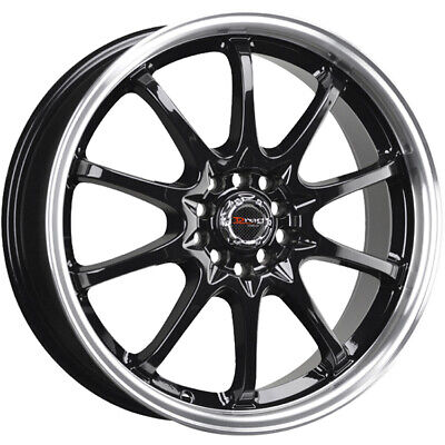 5x114 3 Wheels Rims Gunmetal