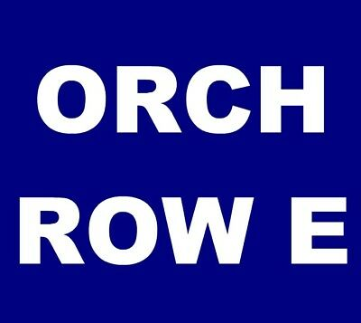The Avett Brothers tickets Los Angeles Greek Theatre L.A. 8/22 **ORCH A, ROW E**