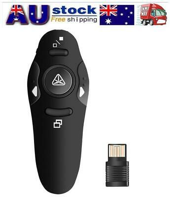 2.4GHz Wireless PowerPoint PPT Presenter Remote Control USB Mouse Clicker Pen AU