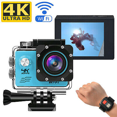 Ultra HD 4K WiFi 16MP Sports Action Camera Video Camcorder Car DVR Waterproof