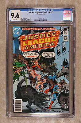 Justice League of America (1st Series) #174 1980 CGC 9.6 1497236029