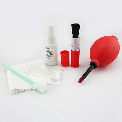 7 in1 Pro Super Optical Cleaning Kit Lens Clean Solution for Canon EOS Camera BD