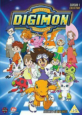 Digimon: Digital Monsters Season 1 [DVD], New, DVD, FREE & Fast Delivery