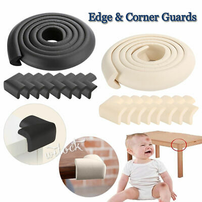 2M Soft Foam Furniture Table Edge & Corner Guards for Child Safety Head Protect