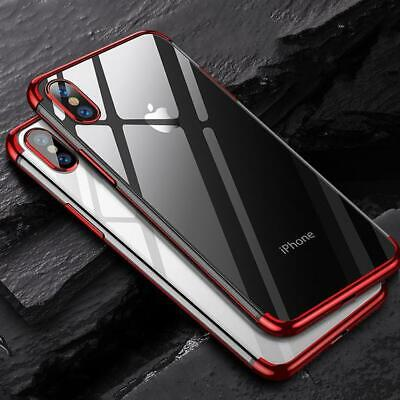 Case for iPhone XR XS MAX Cover New ShockProof 360 Ultrathin Hybrid Silicone