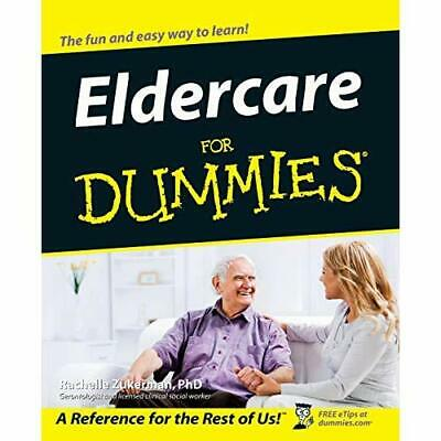 Eldercare for Dummies (For Dummies (Lifestyles Paperbac - Paperback NEW , Rachel