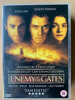 Jude Law Ed Harris Enemy At The ~2001 Seconde Guerre Mondiale Sniper Film DVD