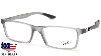 52d24937e0 NEW Ray Ban RB8901 5244 DEMI GLOSS GREY EYEGLASSES FRAME 8901 53-17-145