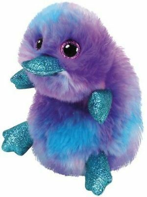 Official Ty Beanie Babies Boos Zappy Platypus Plush Soft Toy New With Tags