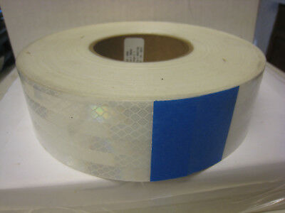 3M 983-10NL 2 in x 150 ft Reflective Tape 2 Inch W  White / Price is for 1 Roll