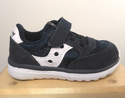 NEW SAUCONY BOYS Baby Ride RoyalNavy Sneakers US Size 6W