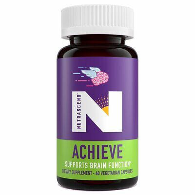 Nutrascend™ ACHIEVE Premium Brain Supplement for Memory, Focus and Clarity*