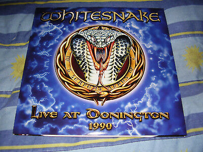 Whitesnake - Live at Donington 1990 - RARE 3x Vinyl LP album 2011 (Frontiers)