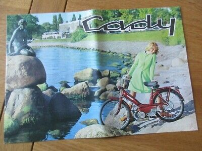 Catalogue  Motobecane Cady Velomoteur 1965 Demontable