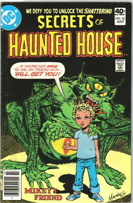 Secrets of Haunted House Comic Book #26 DC Comics 1980 FINE+