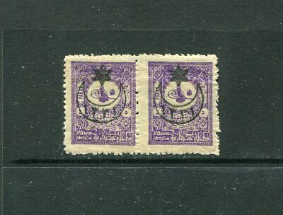 Turkey 1901 pair CV 150€ MLH OG