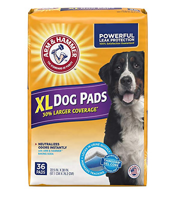 Arm & Hammer Dog Pads, X-Large, 36 Count, Blue