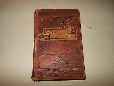VANITY FAIR William Makepeace Thackeray Antique Book Victorian EXCELSIOR EDITION