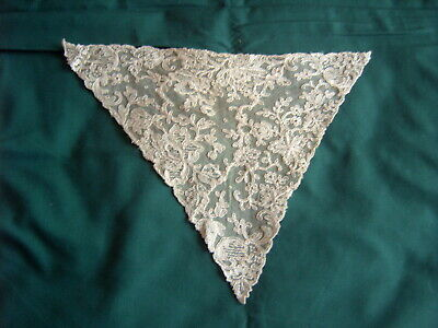 ** Vintage Lace Modesty Panel - Embroidered Tulle  [I]