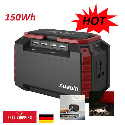 SUAOKI S270 150Wh Power Source Power Bank Mobile Stromversorgung Power Station