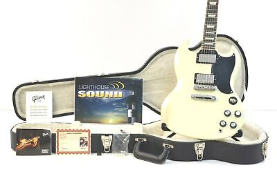 2013 Gibson SG Standard w/'61 RI Features Electric Guitar - White w/Gibson Case