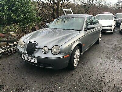 2006 Jaguar S-Type Sport 2.7 Diesel Auto Grey Non Runner Spares Or Repair