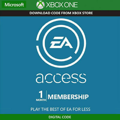 Instant Delivery EA Access 1 Month Membership Subscription Xbox One Region Free