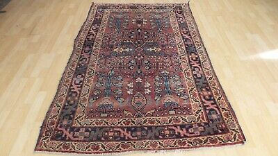"PERSIAN CARPET RUG HAND MADE Antique WOOL traditional DOZAR 6FT 6"" X 4FT 2"""