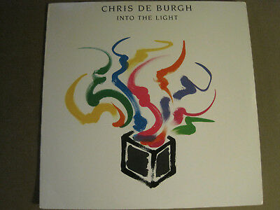 Chris De Burgh Into The Light Lp Orig '86 A&m Synth Pop Soft Rock Lady In Red Nm