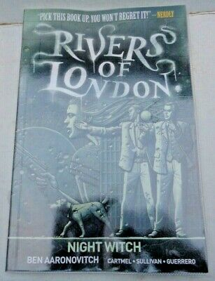 Rivers of London-Night Witch,Titan Graphic Novel,1st Edition,Nov 2016,AS NEW