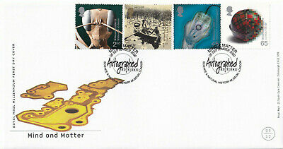 (24295) GB FDC Mind & Matter Natural History Autographed Ed 5 September 2000