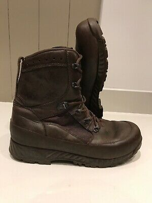 Size 12 genuine brown combat high liability haix boots!Excellent!hardly Worn!