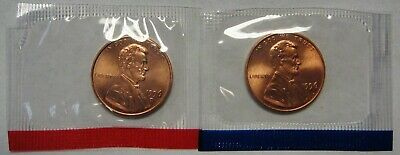 1996 P and D Lincoln Cents Grading GEM BU in Original Mint Cello Packs FREE S&H