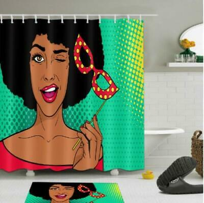 NUBIAN QUEEN AFROCENTRIC Shower Curtain