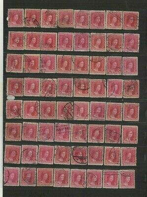 FEB 179 Luxembourg - G.D. Marie-Adelaide lovely selection of USED stamps 10c.