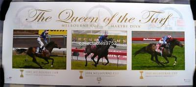 Makybe Diva Queen Of The Turf Limited Edition Print