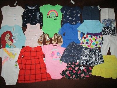 1f2ae1688 23PC. HUGE 12-18 MONTH BABY GIRLS CLOTHING LOT Wardrobe Of Outfits ...