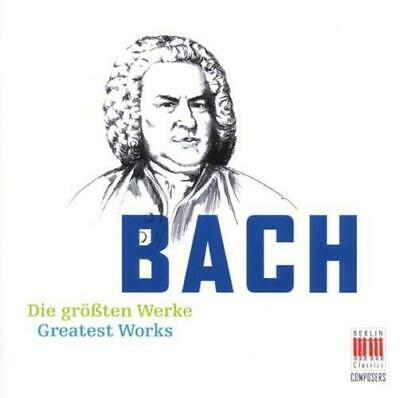 The Greatest Works, Johann Sebastian Bach CD , New, FREE & Fast Delivery