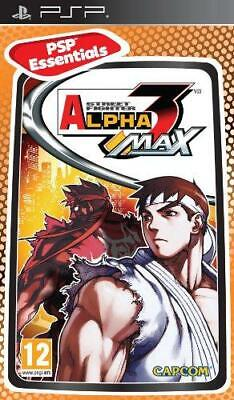 Street Fighter Alpha 3 Max (PSP), Good Sony PSP, Sony PSP Video Games