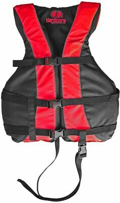 High Visibility Life Jacket Vest with Additional Leg Strap | USCG Approved PFD