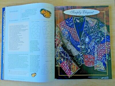 Jenny Haskins~Creative Embroidery by Machine~1999 Annual~Quilts~Clothing~Frame