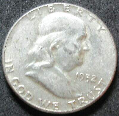 1952 Franklin Half Dollar Coin