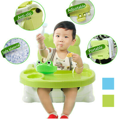 Portable Foldable Kid Child Infant Booster Feeding Eating Training High Chair