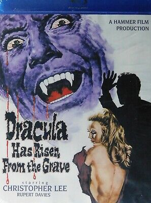 Hammer Film's DRACULA HAS RISEN FROM the GRAVE (1968) Blu-ray Christopher Lee