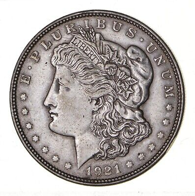 1921 - Morgan Silver Dollar - Last Year - 90% - US Coin *100